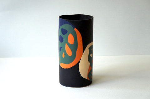 xo SALE Large Cylindrical Vase