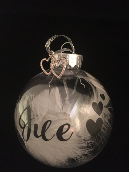 Christmas Remembrance Baubles Personalised Tree Decoration