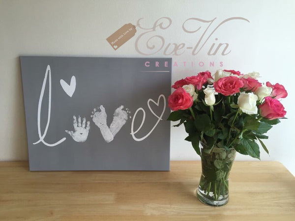 Father's Day Love Canvas Workshop with High Tea - 5 June 2016