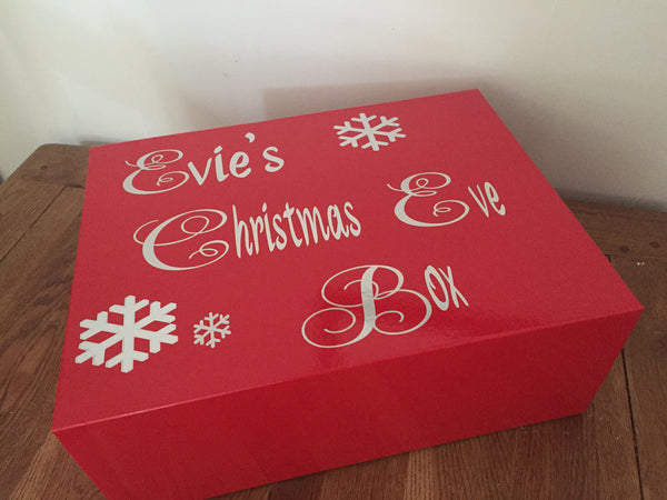 Christmas Eve Box - Magentic Lid