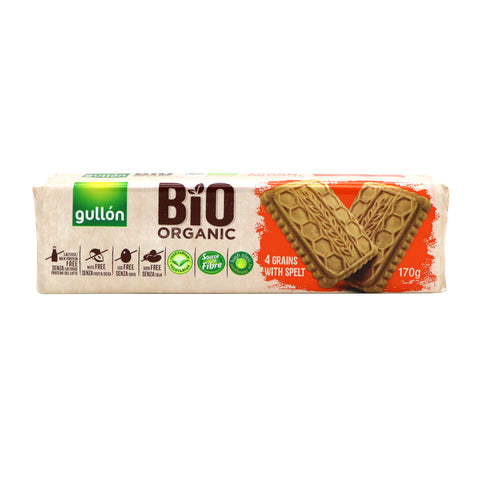 Gullon Bio Organic Bis. - Whole Grains |Gullon有機高纖餅