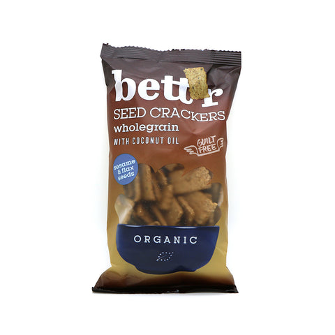 Bett'r Organic Whole Grain Seed Crackers|Bett'r 有機全穀餅乾