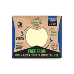 GreenVie Mozzarella Flavour Vegan Cheese Slices|GreenVie 馬蘇里拉純素芝士 (片裝)