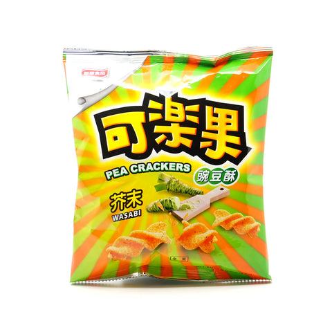 Koloko Pea Crackers - Wasabi Flavored |可樂果 - 芥末味