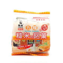 Brown Rice with Five Grains Cracker Stick - Original Flavor|五糧糙米銘果