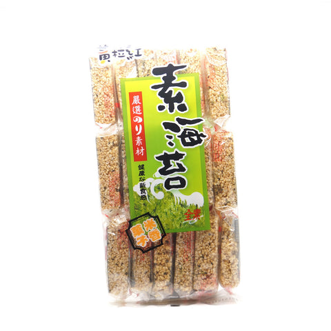 Vegetarian Seaweed Rice Cracker|味覺生機素海苔米果