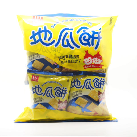 Sweet Potato Crackers|安堡地瓜餅