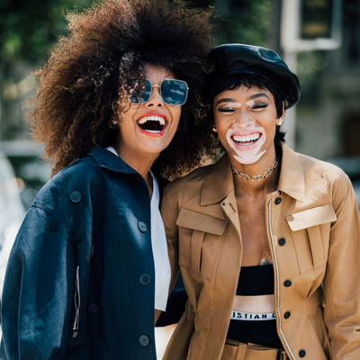 As seen in British Vogue - Street Style Beret Inspiration
