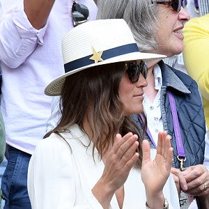 Pippa's Wimbledon hat is JCM!