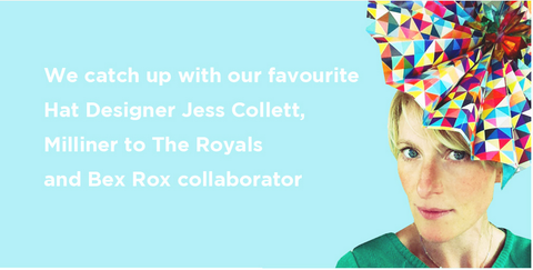 Jess Collett Milliner, London