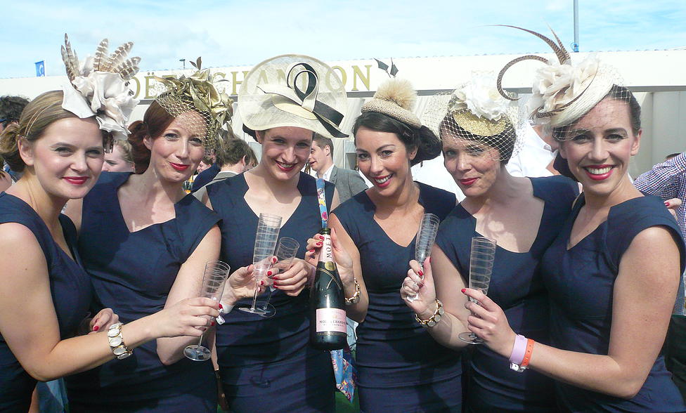 Jess Collett Milliner at Epsom Derby