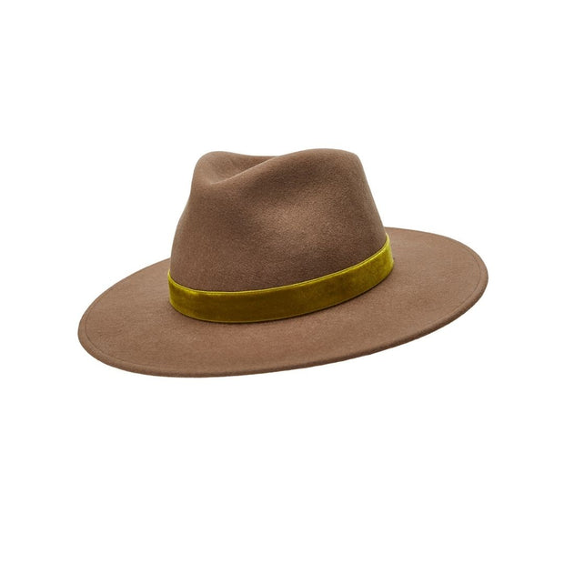 The Hometown Trilby - Mink with velvet band