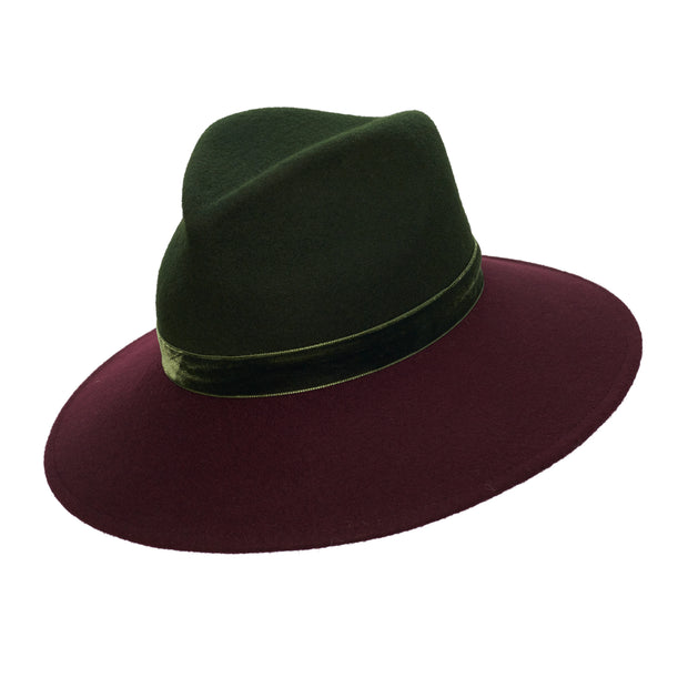 The Hermionie Two-tone Fedora