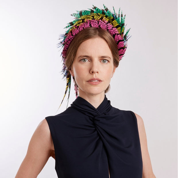 Lorie Feather Headdress
