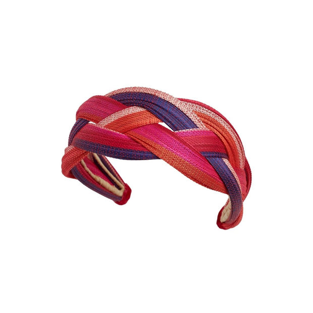 Toquilla Sunrise Hairband - Pink