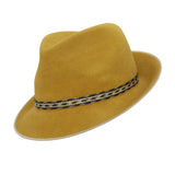 The Gents Trilby - Mustard