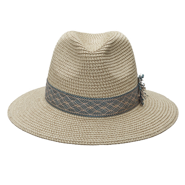 JCM World Traveller Natural - With Woven Blue Band