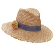 The Raffia World Traveller - Cornflower Blue