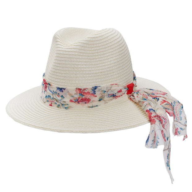Ivory World Traveller - Wildflower Chiffon Ribbon