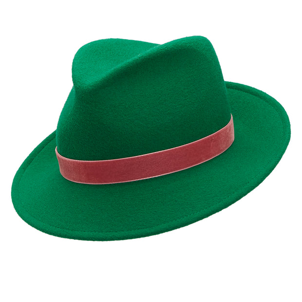 The Jackson Trilby - Emerald