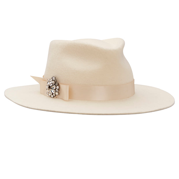 Jagger Trilby - Off White
