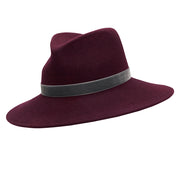 The Rita Fedora - Mulberry