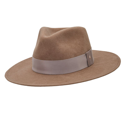 The Hometown Trilby - Mink with plain band