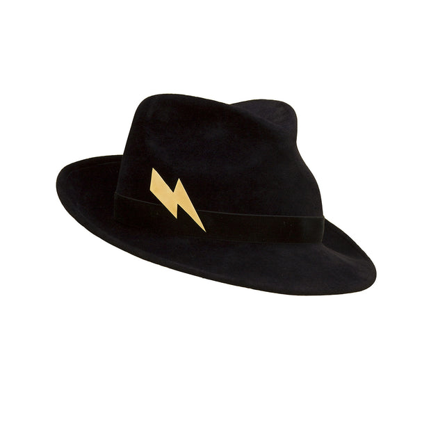 Pretty Things Lightning Trilby - Black