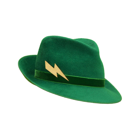 Pretty Things Lightning Trilby - Emerald