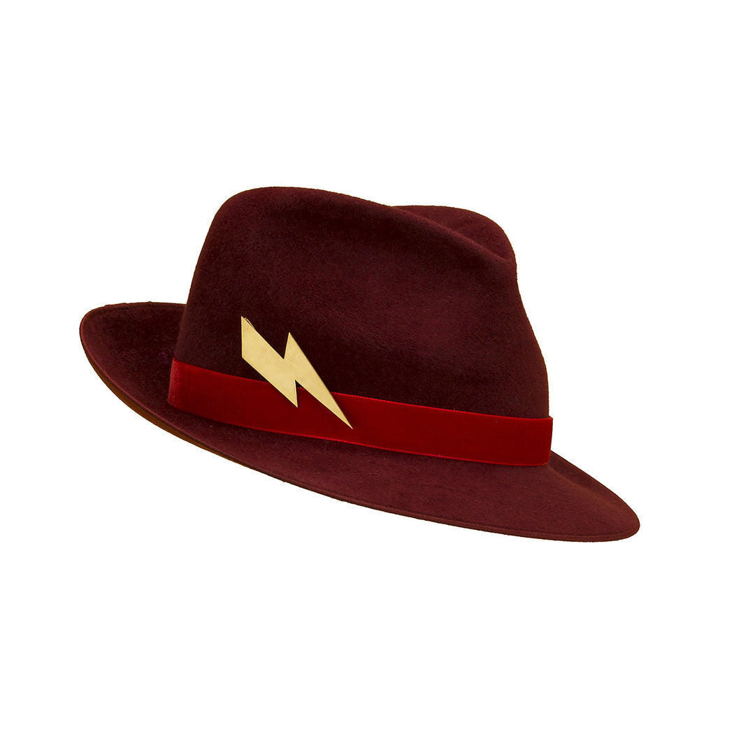 Pretty Things Lightning Trilby - Red