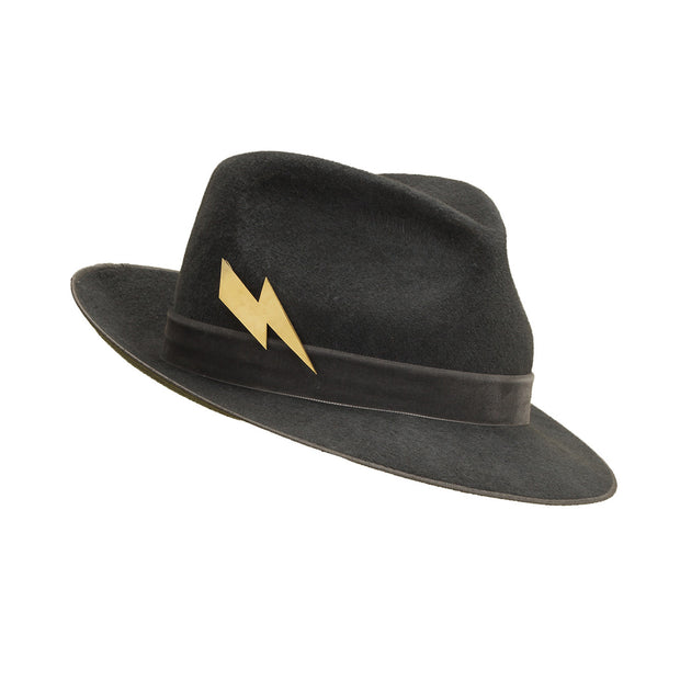 Pretty Things Lightning Trilby - Grey