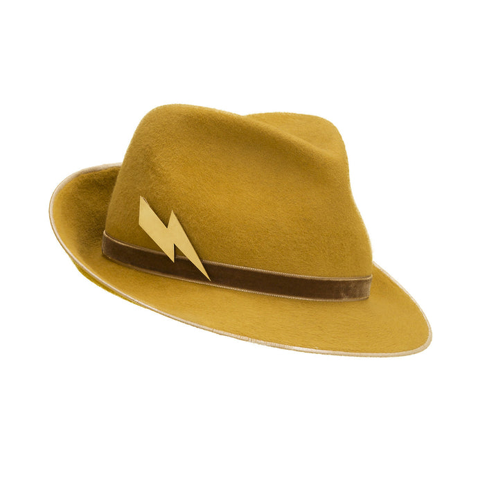 Pretty Things Lightning Trilby - Yellow