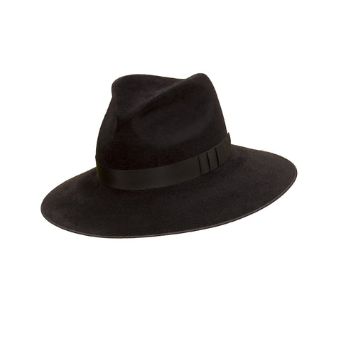 Pretty Things Classic Fedora - Black