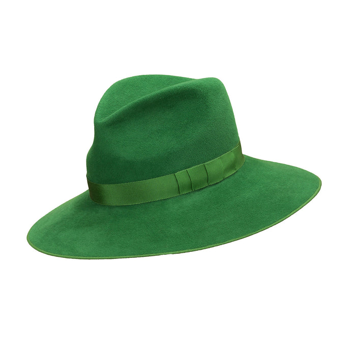 Pretty Things Classic Fedora - Emerald