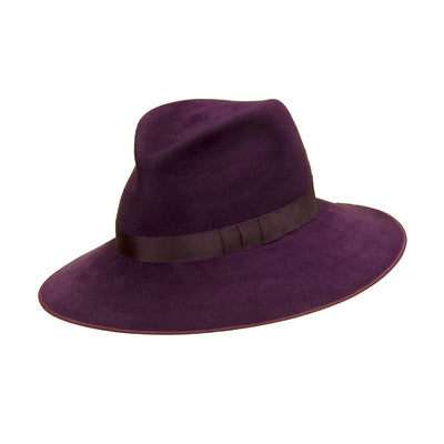 Pretty Things Classic Fedora - Purple