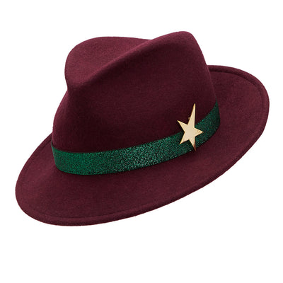 The Jackson Trilby - Mulberry