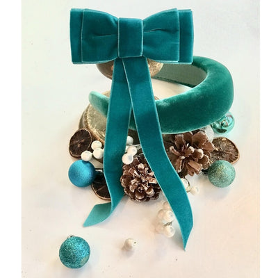 Blondie Tail Bow - Turquoise