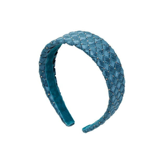 Studded Bella Band - Petrol blue