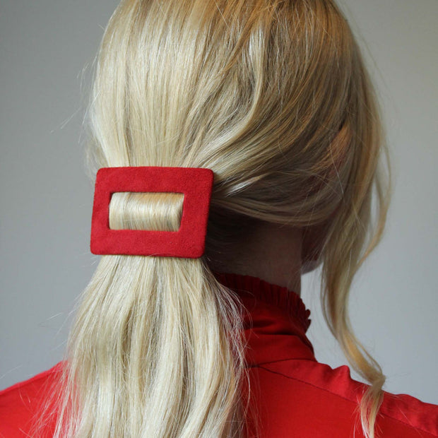 Suede Buckle Clips