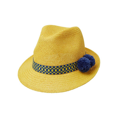 Toquilla Blaze Panama  - Yellow/blue