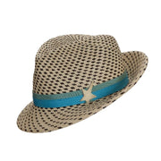 The Jackson Panama Trilby - Chequered