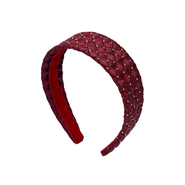 Studded Bella Band - Cherry