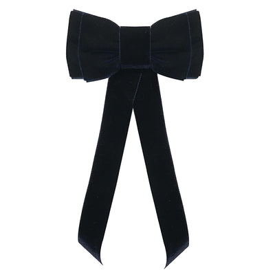 Blondie Tail Bow - Navy
