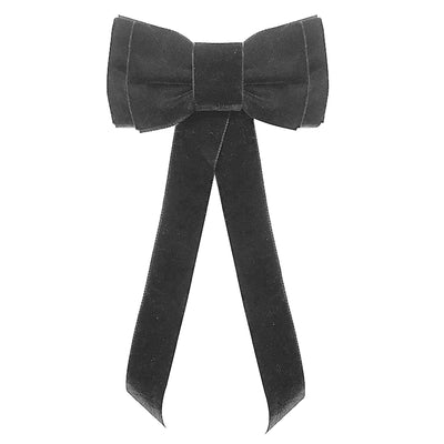 Blondie Tail Bow - Silver