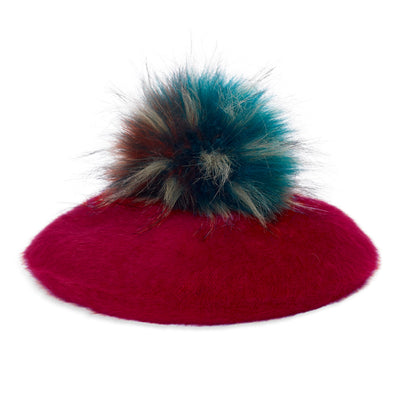 Alya Beret - Dark Red
