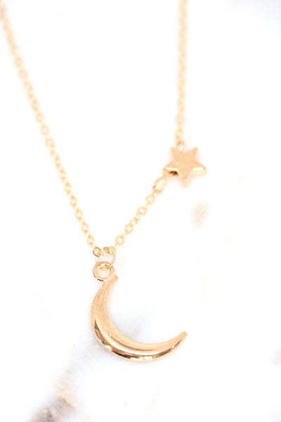 Lunar Necklace (gold)