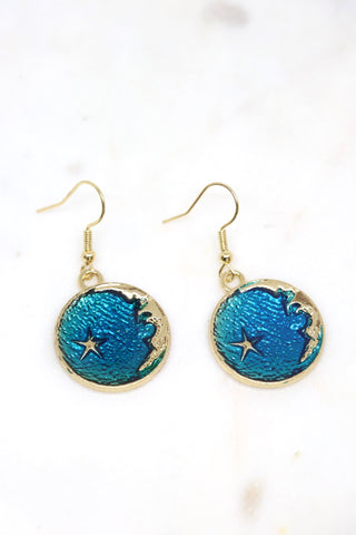 Moon Man Earrings