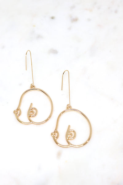 Boob Earrings