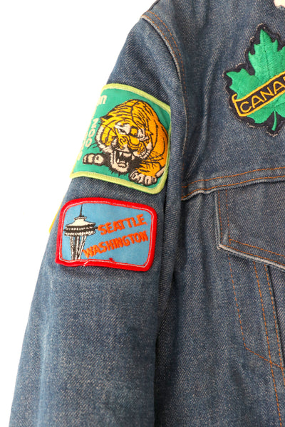 Vintage Levi's Denim Jacket with Patches