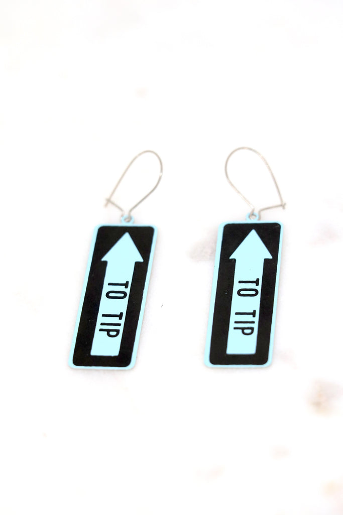 "Vintage ""To Tip"" Earrings"